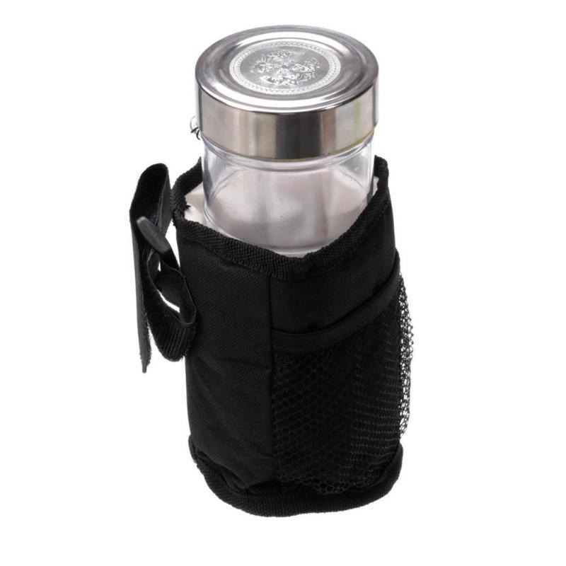 Soporte de cochecito de coche impermeable de tela soporte de cochecito soporte de taza aislado beber llaves botella puede montar el teléfono soporte ME3L Accesorios