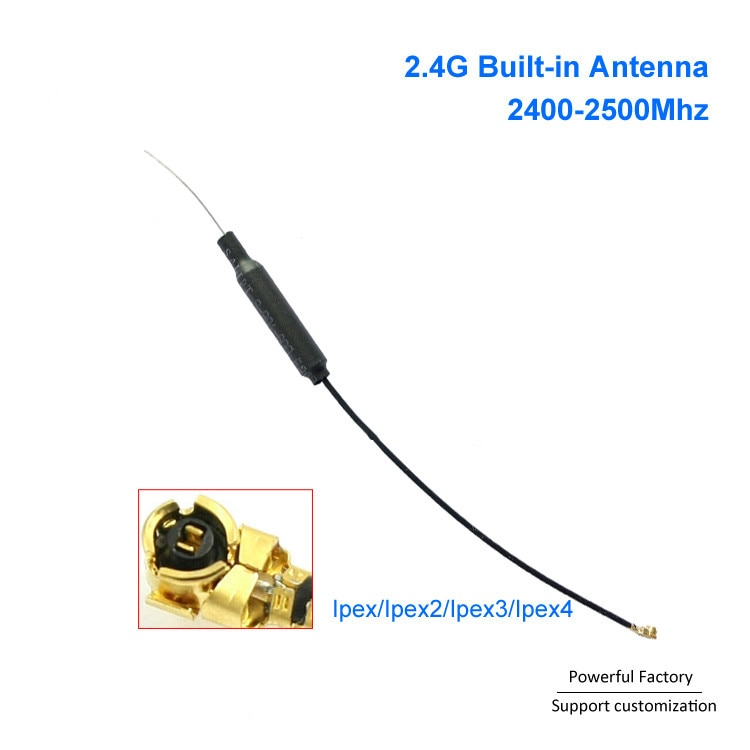 Wholesale Mini Internal Antenna 2.4g Wifi with IPEX IPEX4 Connector 5PCS