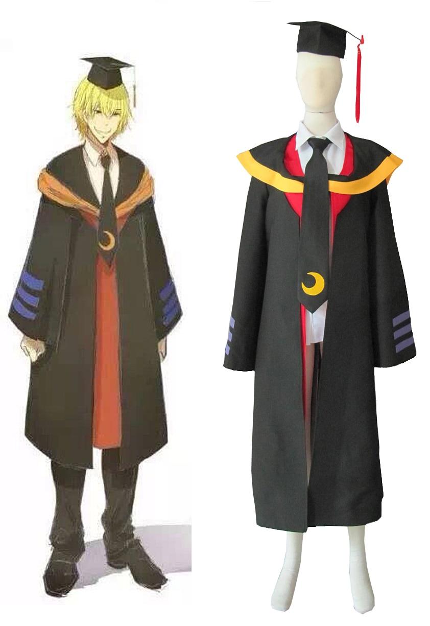 Assassination Classroom Class 3-E Teacher Koro-sensei Humans Cosplay Costume