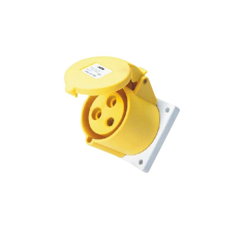 32A 3Pin Novel instalação embutida conector do soquete industrial esconder SFN-323-4 110-130V ~ 2 P + E conector do cabo de tomada IP44