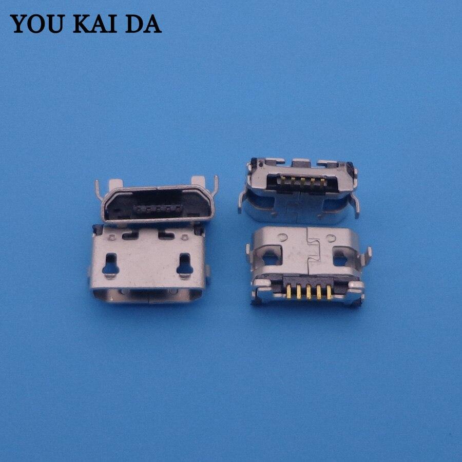 30 Uds nuevo Micro mini conector de toma de corriente con USB cargador de puerto de sincronización de carga Verizon dock plug para BLU TOUCHBOOK 7,0 3G P200 P200L
