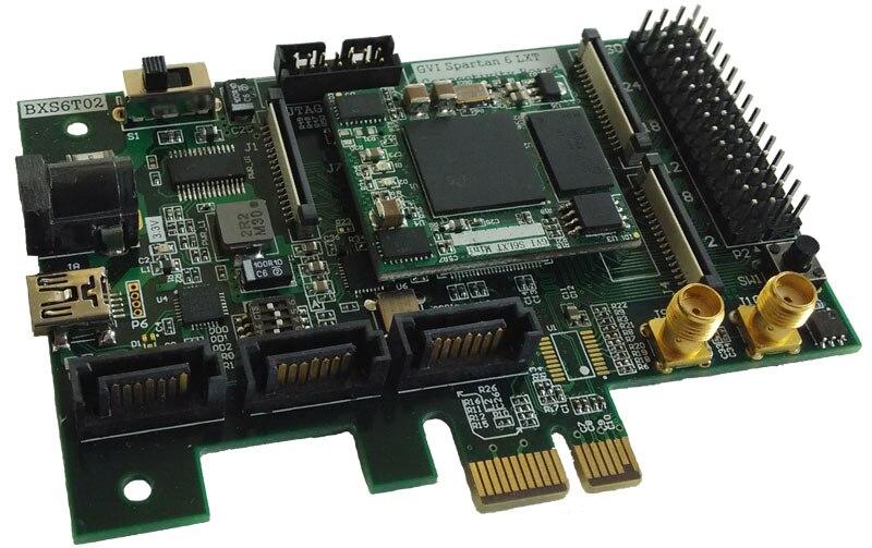 Spartan-لوحة تطوير عالية السرعة 6 ، XC6SLX45T ، 4Gbit DDR3 ، PCIe ، SATA