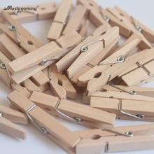 48mm Birch Wooden Clothes Pins Natural Clothes Pegs Wholesale (10000pcs/lot) DIY Wood Craft Party Decor