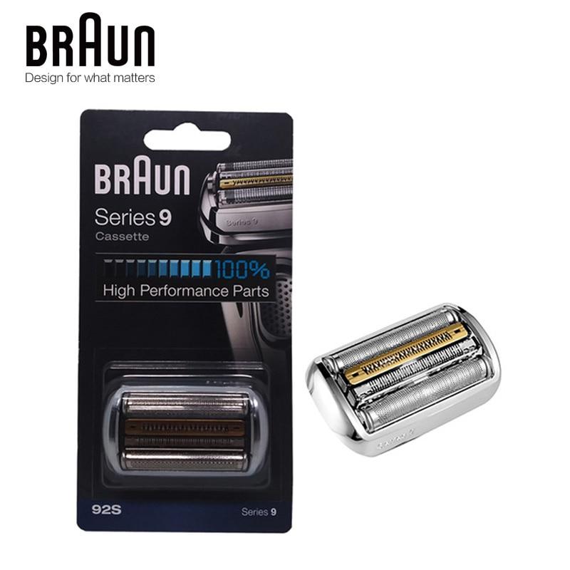 Braun 92s Electric Shaver Razor Blade Series 9 Foil & Cutter Replacement Head Cassette 9030s 9040s 9050cc 9090cc 9095cc