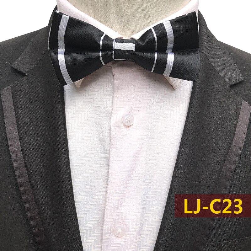 Camisas de esmoquin ajustables de doble cubierta para damas blancas y negras a la moda para hombres y adultos y mariposas