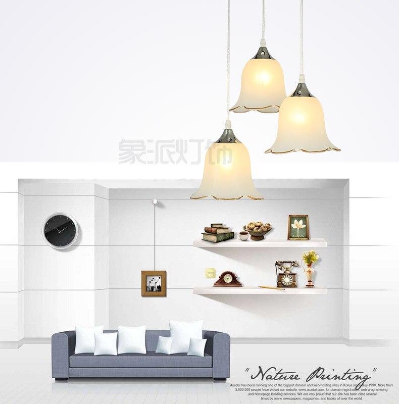 Criativo moderno restaurante luzes pingente minimalista led sala de jantar luz pingente lâmpadas 1/3 cabeças vidro aprimorar lâmpadas iluminação za