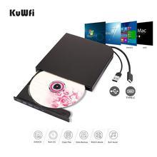 Blu-Ray externe DVD Lecteur Graveur Lecteur USB3.0 Type-c DVD-RW VCD CD RW Lecteur Graveur Superdrive Pour Apple Pro Air iMAC PC Portable