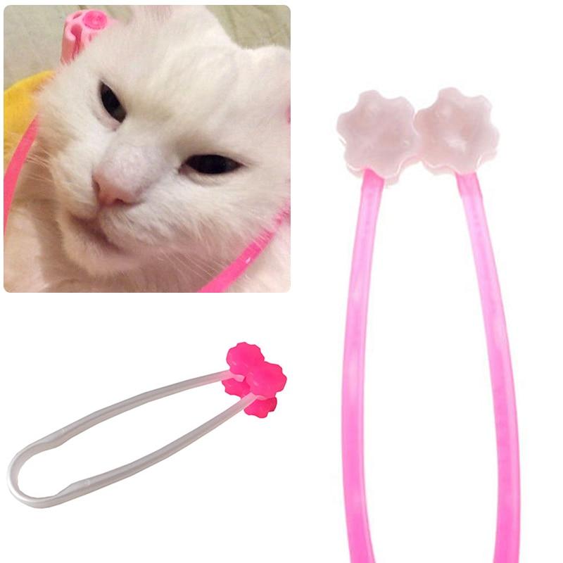 1pcs 12cm Cat Massage Tool Cat Thin Face Massager Feet Leg Massager Health Care Grooming Tool for Ca