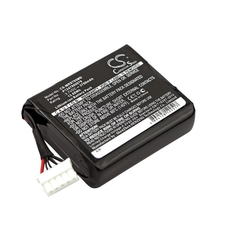 Batería Para Masimo Radical-7 9500 pantalla táctil médico recargable de Li-Ion acumulador de P1247900079 23794 12 V 3750 mAh