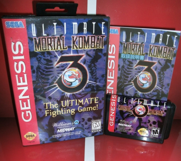 Mortal Kombat 3-La última lucha cubierta para USA con caja y manual para Sega Megadrive Génesis Video juego consola 16 poco MD tarjeta