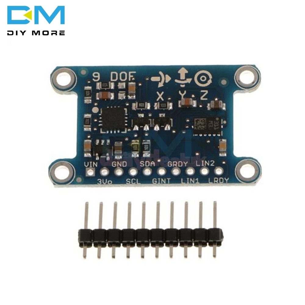 9-осевой модуль ру L3GD20 LSM303D, 9DOF, компас, �