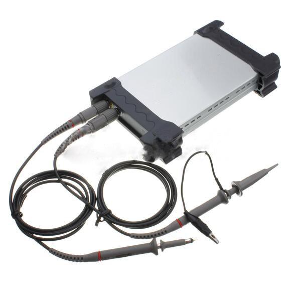 Jiguoor цифровой Dso Осциллограф 2 канала оригинальный Виртуальный осциллограф PC USB разъем 6022BE USB на базе ПК