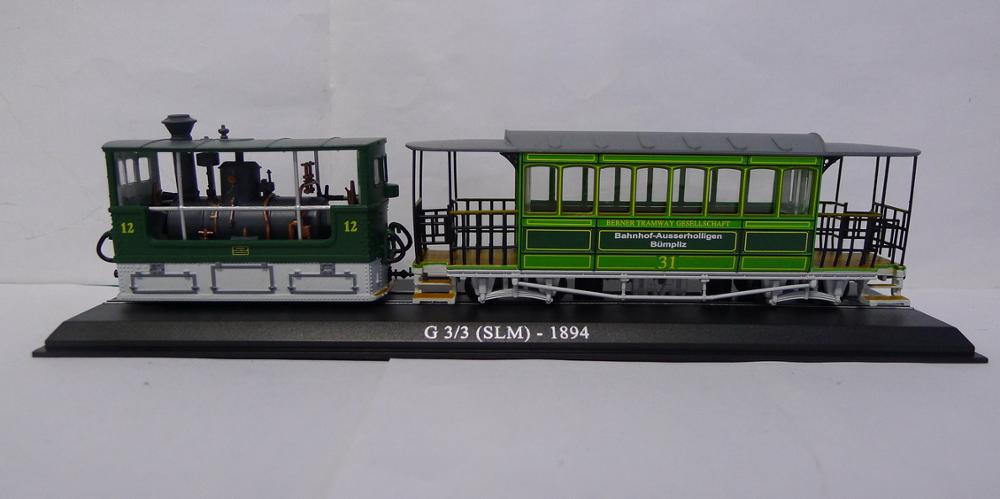 Atlas G 3/3 (SLM) 1984 tranvía Vhicles 1/87 modelo