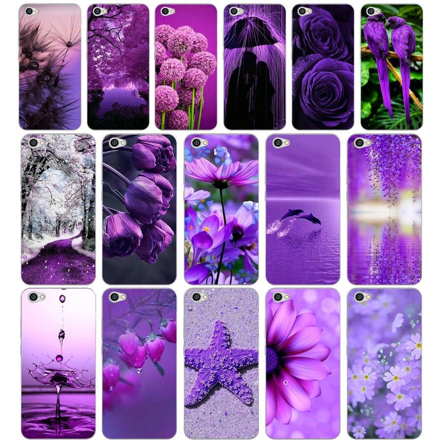 269H infinito púrpura de silicona suave cubierta Tpu funda de teléfono para Xiaomi redmi 4a 6a 4x nota 5a pro mi a1