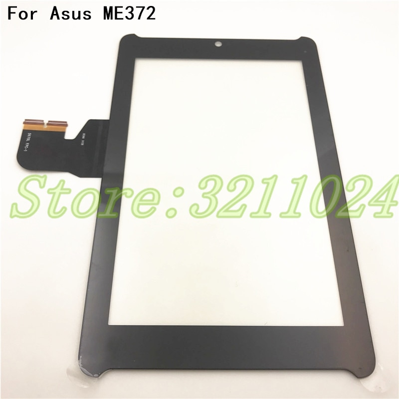 100% probado para Asus Fonepad 7 LTE ME372 ME372CG K00E Digitizer Touch Sensor de panel de pantalla reemplazo de vidrio