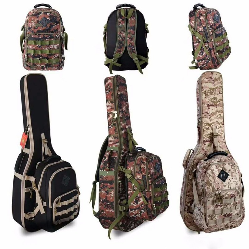 Impermeable Thicken 40 41 42 Folk Flattop Balladry Steel-String funda de guitarra clásica acústica funda mochila accesorios Gig