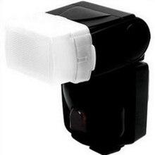 Foleto caméra Flash bouchon de lumière diffuseur rebond dôme boîte souple diffuseur pour nikon Speedlite SB-600 SB600 YN462 YN460 YN460II YN465