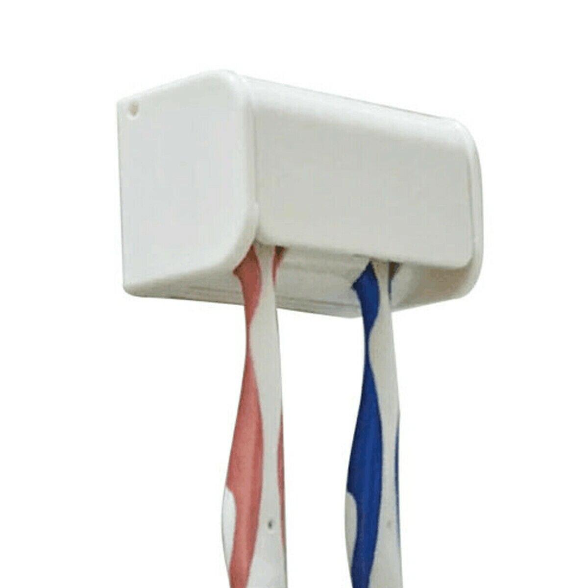 Nuevo práctico cepillo de dientes Spinbrush automático montaje en pared soporte estante de baño Anti-polvo conjunto