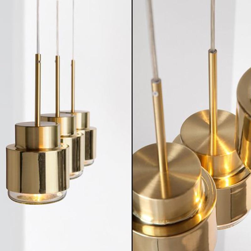 Luminaria Avize moderna lámpara LED colgante para dormitorio comedor nórdico vidrio burbuja Restaurante Salón lámpara de cocina suspendida