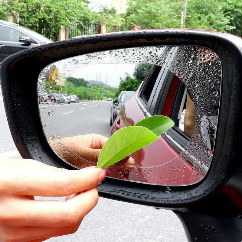 2 uds espejo retrovisor para coche etiqueta engomada impermeable para chrysler 300c renault sport hyundai ix35 subaru impreza renault clio 4 trafic