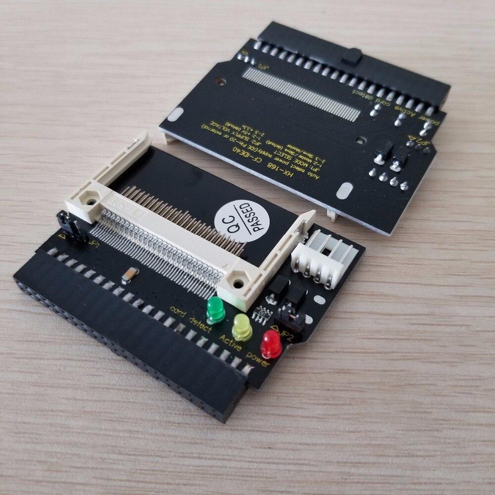 IDE 40Pin Female to CF Compact Flash Male Adapter Card поддерживает функцию DMA