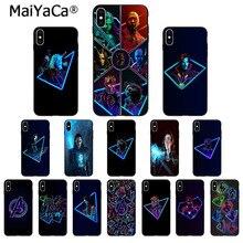 Maiyaca Avengers Marvel Coloré Mignon pour iPhone 11 pro max 7 8 plus 6 6plus 6splus X Xs Xr XsMax 5 5s SE Couvrir