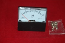 1 шт., аналоговый амперметр постоянного тока, 670 мА, 60 Х70 мм panel switch ammeter dcpanel draperies   АлиЭкспресс