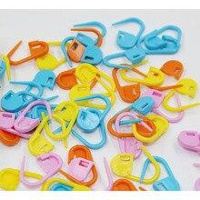 Porte-marqueurs en plastique de haute qualité   Clip à aiguille, artisanat mixte, Mini Crochet de tricot, point de verrouillage,
