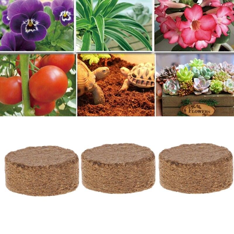 Granulés de coco en Fiber de coco   Nutritif sol léger plante de Base compressée jardin