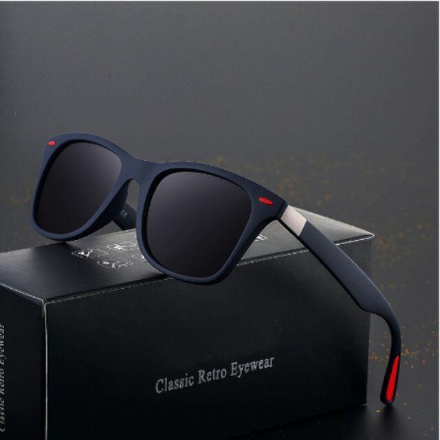 BRAND DESIGN Classic Polarized Sunglasses Men Women Driving Square Frame Sun Glasses Male Female Gog