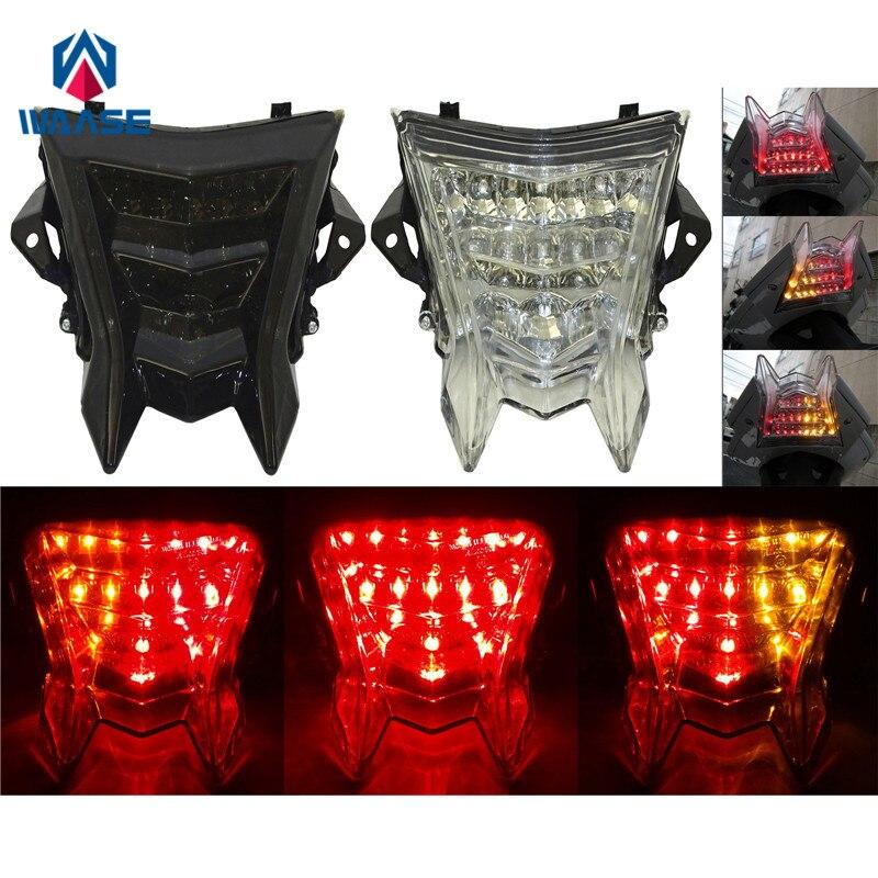 Waase E-Mark задний фонарь стоп-сигналы поворота Интегрированный Светодиодный свет для BMW S1000RR K46 2009 2010 2011 2012 2013 2014 2015-2019