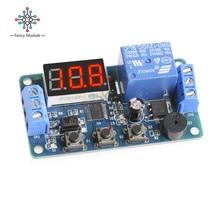 Cd 12V Module daffichage V cc   Minuterie Programmable, Module de relais, Module de temporisation, commutateur de carte, sonnerie de voiture