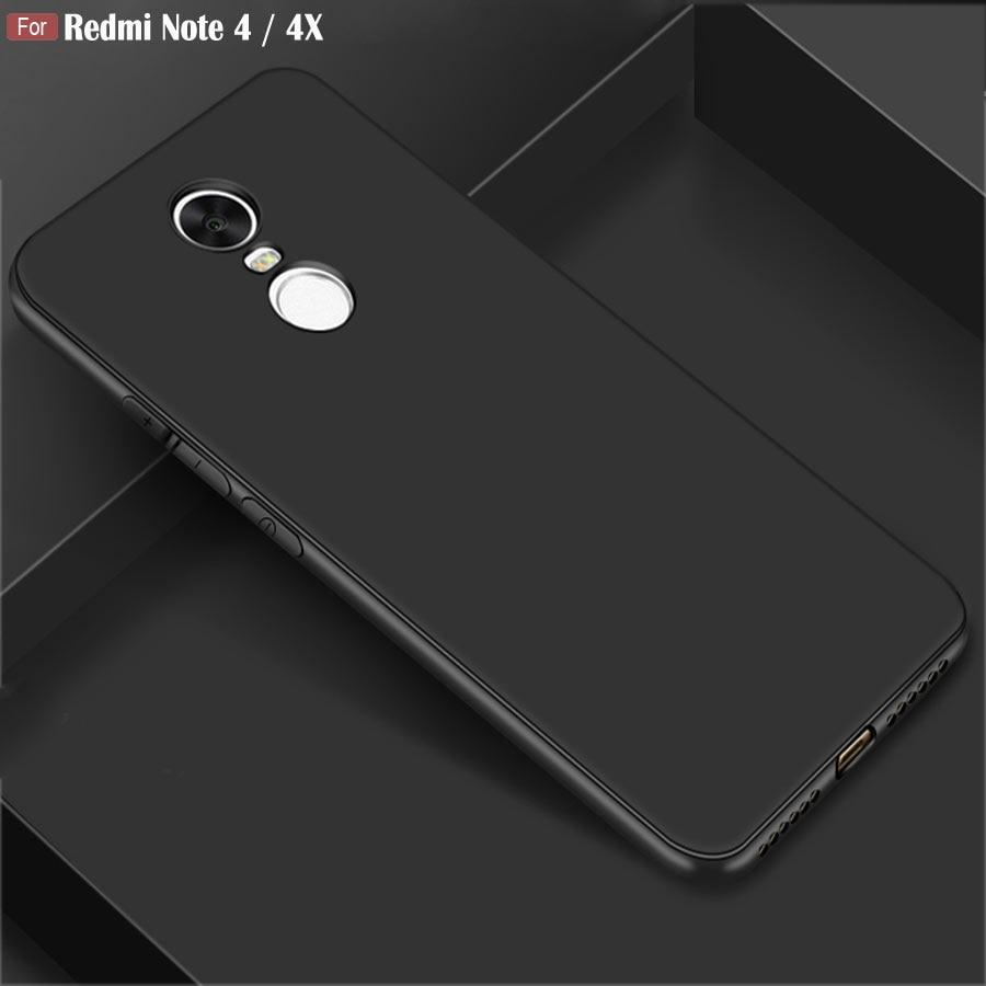 Funda de hotswei para xiaomi Redmi Note 4 X 4X, cubierta protectora de silicona suave de TPU mate de alta calidad para Xiaomi Redmi Note 4X