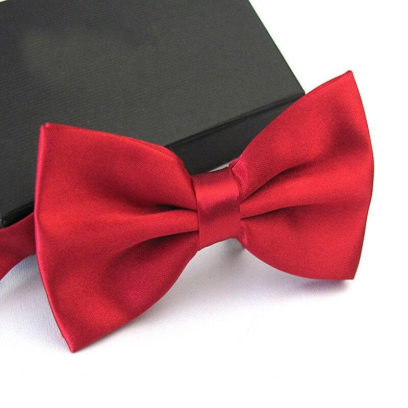 Мужской галстук бабочка для свадьбы черный/белый/серебристый/цвета