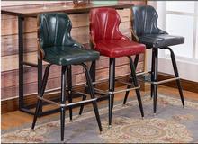 002 table et chaise de bar en bois massif. Loisirs bar chair.44100