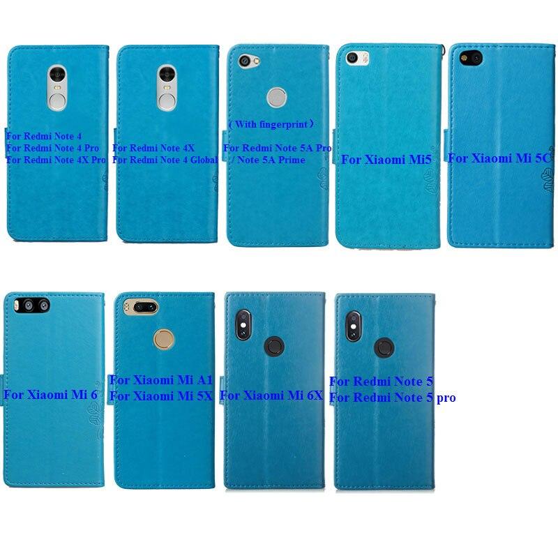 Flip Case For Xiaomi A1 A2 5X 6X Max 2 F1 CC9 NOTE 10 Pro Redmi 5A 5 6 6A 5 Plus 4X Note 4 5 4X 5A 6 7 8Pro 8T Wallet Phone Case