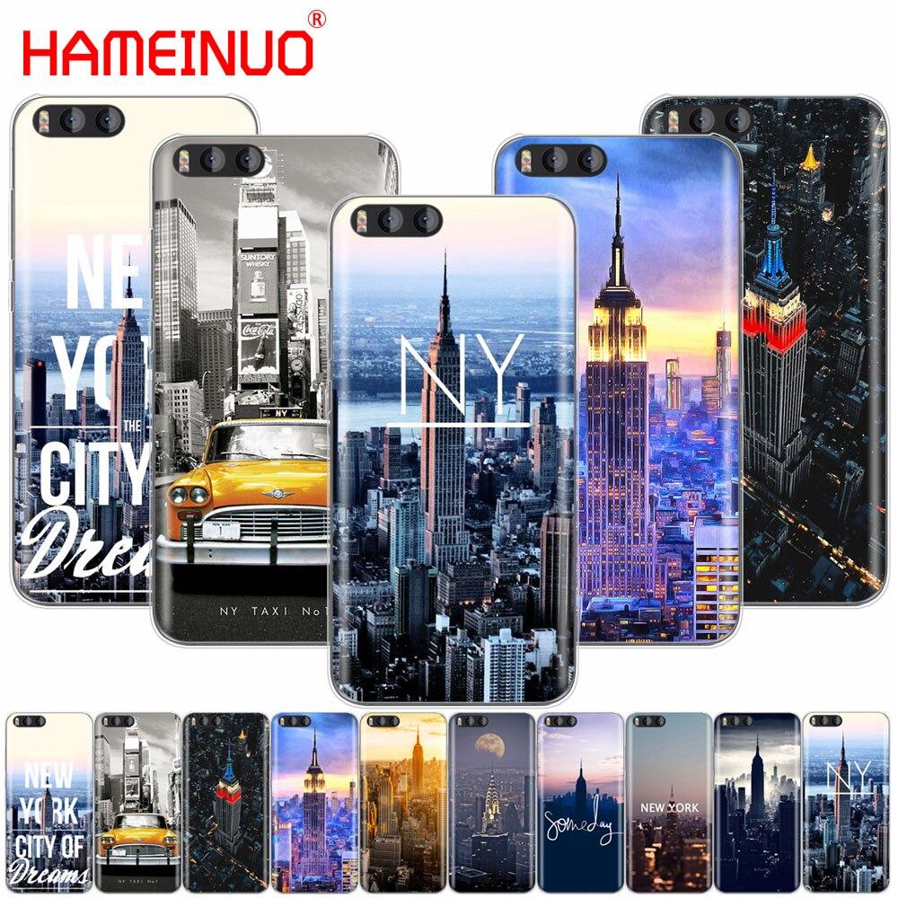 HAMEINUO De La Ciudad De Nueva York funda para Xiaomi mi A1 A2 3 4 5 5S 5C 5X 6 6X 4S 4I 4C nota MAX 2 mi x plus