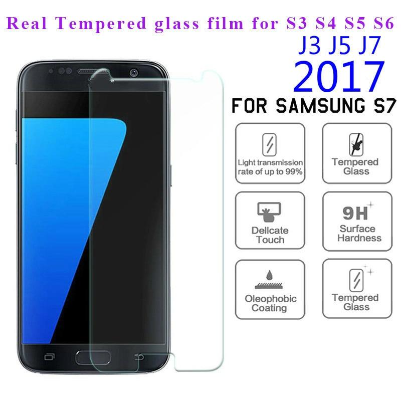 2.5D de vidrio templado para Samsung S3 S4 S5 S6 S7 S4...