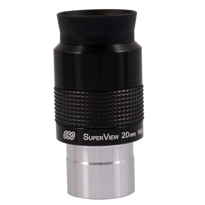 "Окуляр GSO 1,25 ""Superview 20 мм с широким полем 68 градусов"