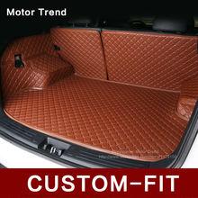 3d custom fit auto kofferraummatte für honda accord civic crv stadt Vezel Cross Fit auto-styling heavey duty fach teppich cargo-liner