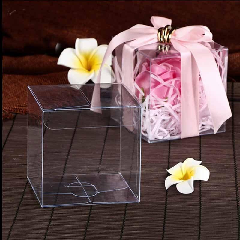 3000pcs100. 29x25,90x37,31 (mmScrubs PVC Rechteck Boxen Hochzeit Gunsten/Baby Dusche/Süßigkeiten/Geschenk Hängen box Günstige Individuelles logo