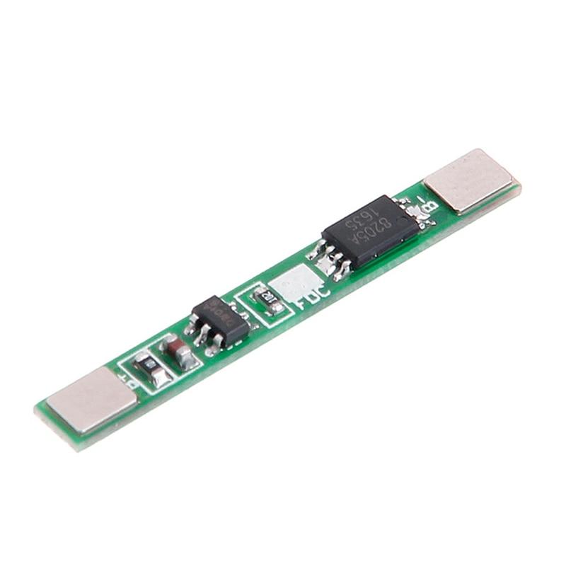 2.5A 1 S 3.7 V Placa de Proteção de Lítio Batterry Polymer Li-ion BMS PCM PCB Módulo