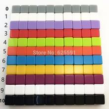 Hohe Qualität 10 stücke 16mm d6 harz farbige rohlinge würfel für engarved oder gedruckt oem spiel platz ecken standard größe