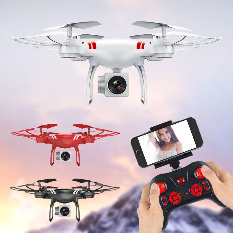 Limskey K101 2018 RC Drone Wifi FPV HD Cámara ajustable altitud, mantener de regreso con una sola tecla/Quitar RC Quadcopter Drone VS Syma X5