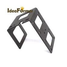 3D printer parts Reprap Prusa I3 MK7 MK8 extruder stainless steel mounting bracket U-shaped metal bracket