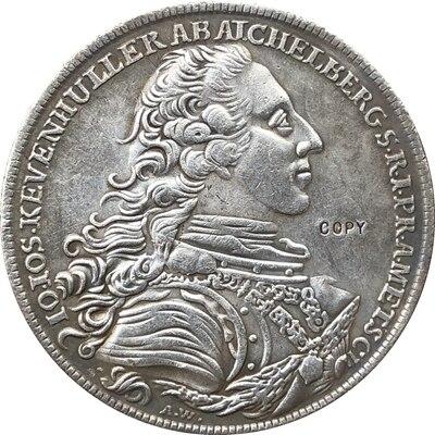 Copia de monedas 1771 Austria 1 Thaler 41,7 MM