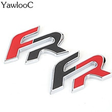 Metal 3D FR Car Sticker Emblem Badge for Seat Leon FR+ Cupra Ibiza Altea Exeo Formula Racing Car Acc