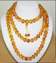 Nuevo estilo de la venta caliente **** 10mm Tíbet del grano 108 cuentas de collar de la manera joyería de la boda