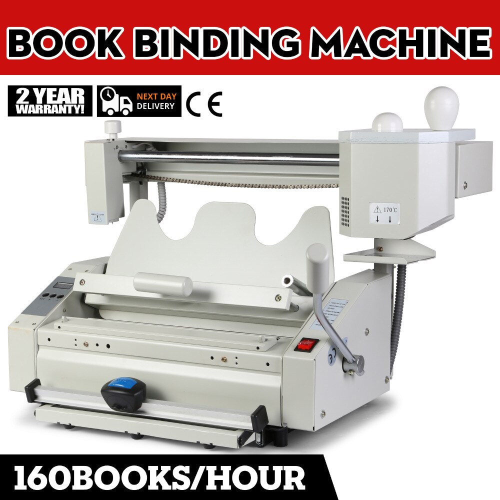 Manual de pegamento caliente libro Encuadernación con aglutinante de la biblioteca de estudio de impresión y publicación de las empresas
