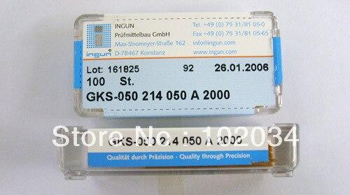100 قطعة/الوحدة 100% الأصلي INGUN GKS050-214-050 GKS050-214 050 2000 الربيع اختبار التحقيق بوجو دبوس صنع في ألمانيا